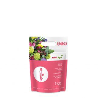 Gėlių trąšos 1 kg. Kompleksinės trąšos su mikroelementais. Gėlėms augančioms lauke