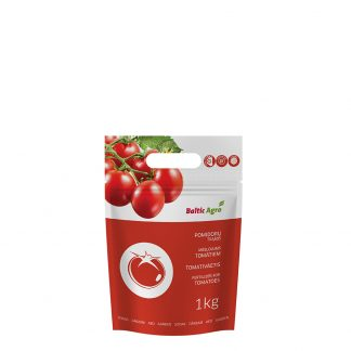 Pomidorų trąšos 1 kg. Tinka tręši pomidorus. Naudojama pavasarį, vasarą.