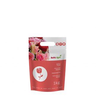 Rožių trąšos 1 kg. Kompleksinės trąšos su mikroelementais. Gėlėms augančioms lauke