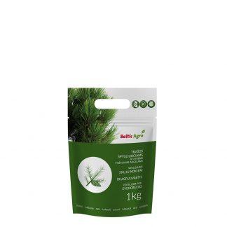 Trąšos spygliuočiams ir visžaliams augalams 1 kg. Koncentruotos mineralinės trąšos.