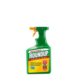 Roundup® Express (paruoštas naudoti) 1000 ml. Sisteminis, neatrankinio veikimo herbicidas. Augalų apsauga nuo piktžolių