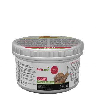 Gusto moliuskocidas 250 g. Kontaktinis moliuskocidas. Augalų apsauga nuo kenkėjų