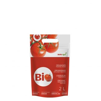 Organinės trąšos pomidorams 2 l. Trąšos pagamintos tik iš natūralių medžiagų, jų sudėtyje nėra cheminių priedų. Tinka tręši pomidorus.