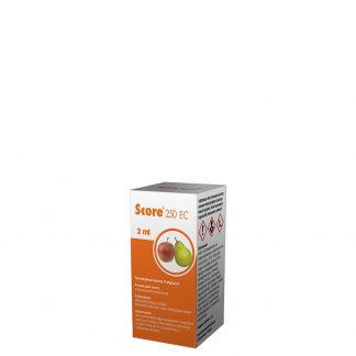 Score 250 ec 2 ml. Sisteminio veikimo fungicidas. Augalų apsauga nuo ligų