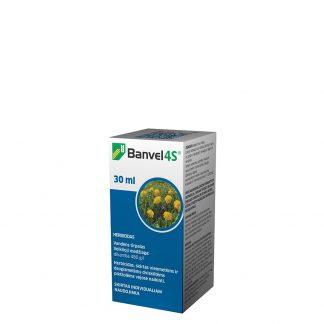 Banvel 4S 30 ml. Sisteminis atrankinio veikimo herbicidas. Augalų apsauga nuo piktžolių