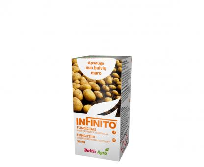 Infinito 30 ml. Sisteminio ir translaminarinio veikimo fungicidas. Augalų apsauga nuo ligų