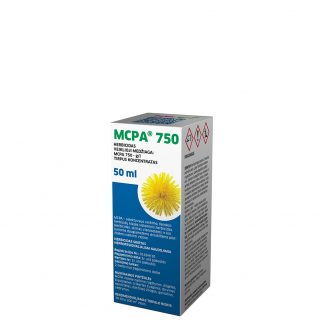 MCPA 50 ml. Selektyvaus veikimo fenoksiherbicidų klasės sisteminis herbicidas. Augalų apsauga nuo piktžolių