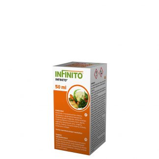 Infinito 50 ml. Sisteminio ir translaminarinio veikimo fungicidas. Augalų apsauga nuo ligų