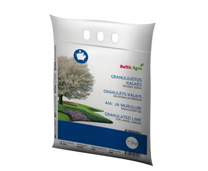 Granuliuotos kalkės 7,5 kg. Aukščiausios kokybės granuliuotos kalkės.