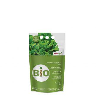 Organinės trąšos daržui 2 L. Trąšos pagamintos tik iš natūralių medžiagų, jų sudėtyje nėra cheminių priedų.