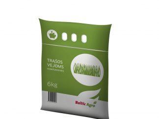 Trąšos vejoms kompleksinės 6 kg. Kad veja tinkamai augtų, dirvoje turi būti pakankamai maistinių medžiagų.