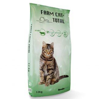 """""""FARM CAT"""" su mėsa 12 kg"""