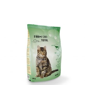 """FARM CAT"" su mėsa 500 g"