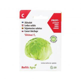 """Sėjamosios salotos """"Silvinas"""" F1. 100% be chemikalų"""