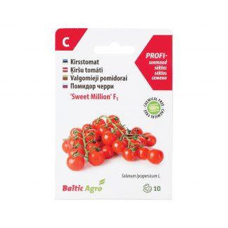 "Valgomieji pomidorai ""Sweet Million"" F1. 100% be chemikalų"