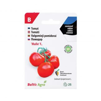 "Valgomieji pomidorai ""Malle"" F1 (estiška sėkla). 100% be chemikalų"
