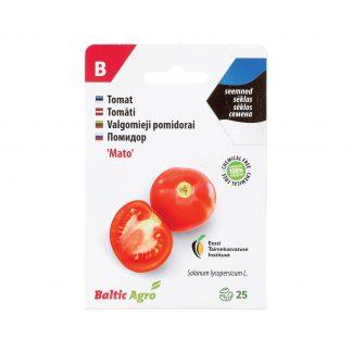 """Valgomieji pomidorai """"Mato"""" (estiška sėkla). 100% be chemikalų"""