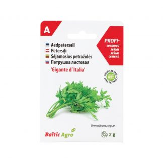 Lot.Petroselinum crispum. 100% be chemikalų